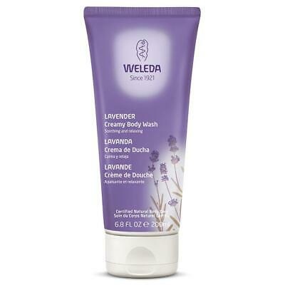 Weleda Bath & Shower Lavender Creamy Body Wash 6.8 Fl Oz 233510 OC