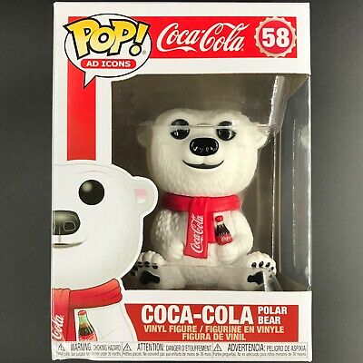 Funko Pop! Ad Icons: Coca-Cola - Polar Bear w/ Coke #58 Vinyl Figure