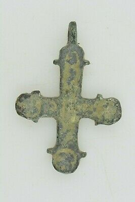 Byzantine bronze cross 7-9th century AD.
