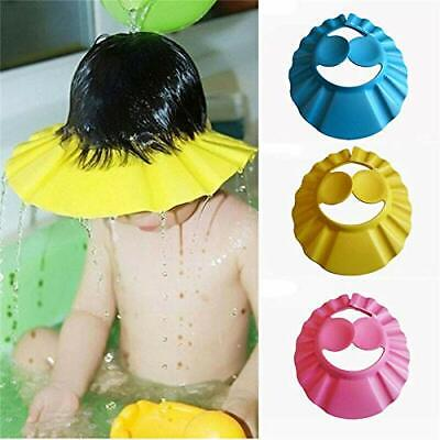 Really Effective Infant Bath Shower Cap Adjustable Baby Hair Wash Hair Cut Hat