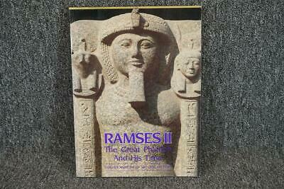Ramses II The Great Pharaoh And His Time Softcover C. 1987 By Rita E. Reed