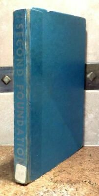 Asimov ~ Second Foundation ~ First Print~ Gnome Press ~ Vintage 1953 Ex Library