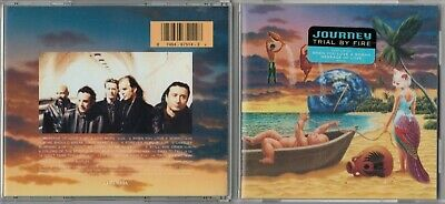Journey - Trial by Fire (Rock) (CD 1996 Columbia (USA)) HYPE STICKER LN