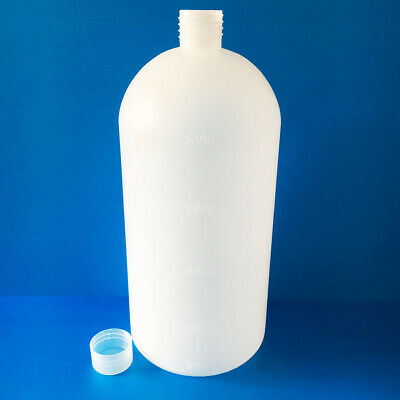2000ml Durable Clear Lab Seal Chemical Bottle Sample Bottle Storage Container