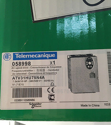 1PC NEW In Sealed box Schneider ATV31HU75N4A 7.5kw 10HP AC drive Inverter
