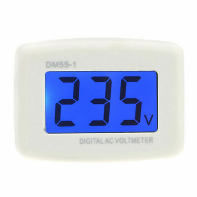DM55-1 AC 80-300V LCD Digital Voltmeter US plug-in electric pen meter D6Z9
