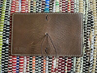 chic sparrow travelers notebook Classic Nano In Chocolate Creme Leather