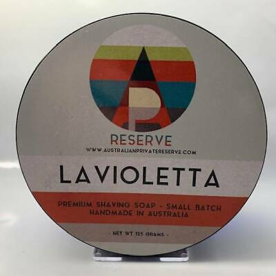 La Violetta Shaving Soap - by Australian Private Reserve (Pre-Owned)