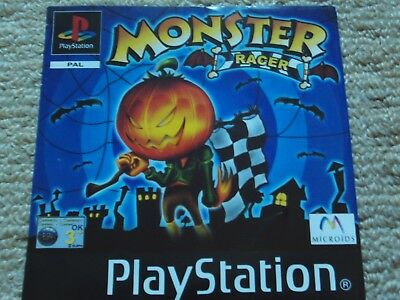 Monster Racer  – Sony Ps1 Front Art Inlay