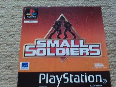 Small Soldiers  – Sony Ps1 Front Art Inlay
