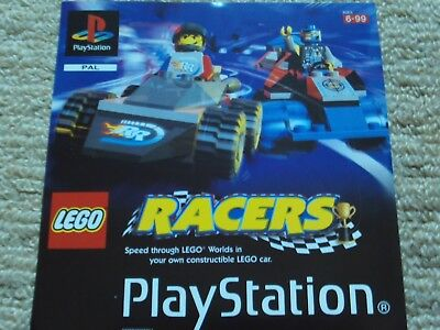 Lego Racers  – Sony Ps1 Front Art Inlay