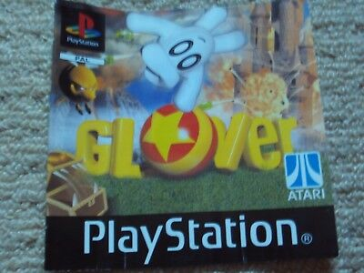GLOVER  – Sony PS1 Instruction Manual