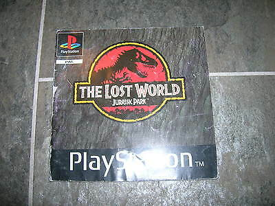 THE LOST WORLD JURASSIC PARK  – Sony PS1 Instruction Manual
