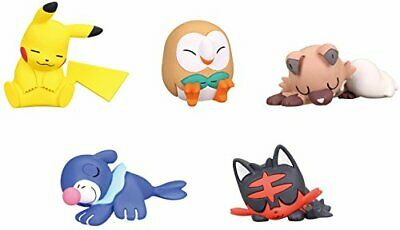 Takara Tomy Pokemon Sun/&Moon Oyasumi Friends Night Sleep P1 Completed Set 5pcs