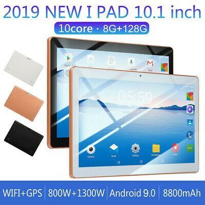 10.1 pollici 8GB+128GB Tablet PC bluetooth Android 9.0 10 Core WIFI 4G-LTE 2SIM