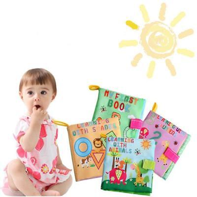 Infant Kids Intelligence Development Soft Cloth Cognize Book Toddler Toy T3