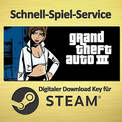 ⚡ Grand Theft Auto III GTA 3 - UNCUT - PC & MAC - STEAM Key - BLITZVERSAND ⚡