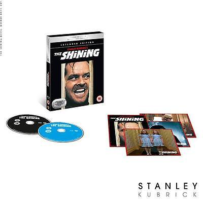 The Shining Extended Version Premium Ed Blu-ray + DVD + Digital HD NEW Inc Cards