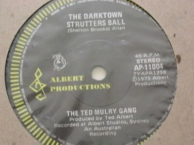 The Ted Mulry Gang She ´S For Me Original Australien Albert Étiquette 1975