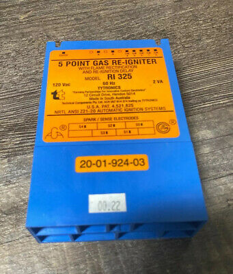 EGO 83-22000-002 5 Point Gas Re-Igniter Model Ri 230C-5G Replaces WB13T10076