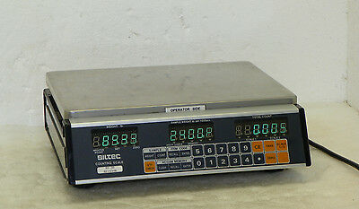Siltec EC-50 Counting Scale 0.01 - 50lb. Piece Count Counter 50 x 0.01lb