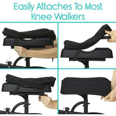 Knee  Pad Cover Soft Padding Cushion Cover Accessory for Knee Scooter and Roller