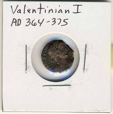 AD 364-375 Ancient Roman Coin Valentinian I Victory Walking Left Nice One