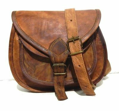 NEW Quality Soft Real Leather Satchel Messenger Cross Body Bag Limited Edition