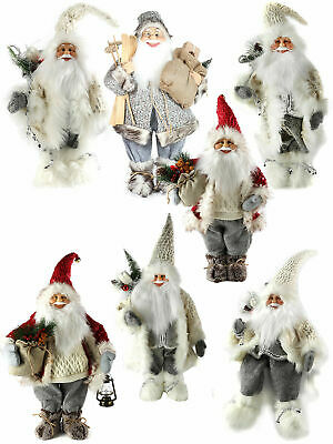 Traditional Standing Santa Claus Decoration Father Christmas Nordic Ornament