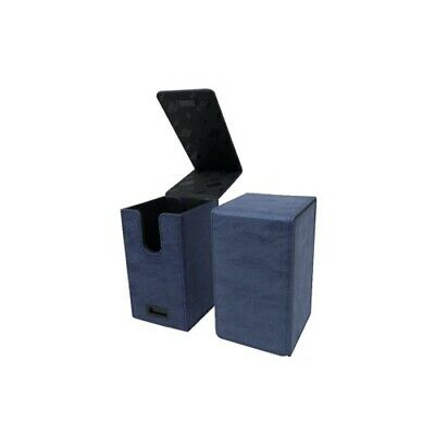 Ultra Pro 85763 UP - Alcove Tower Suede Collection Deck Box - Sapphire