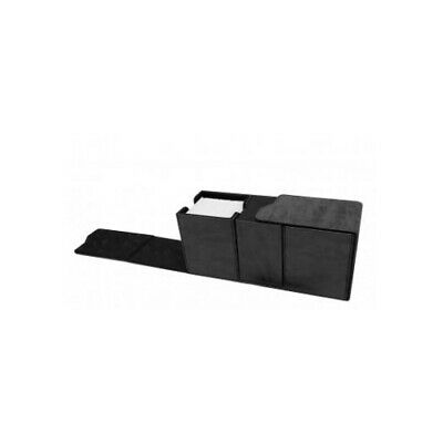 Ultra Pro 85895 UP - Suede Collection Alcove Vault Deck Box - Jet