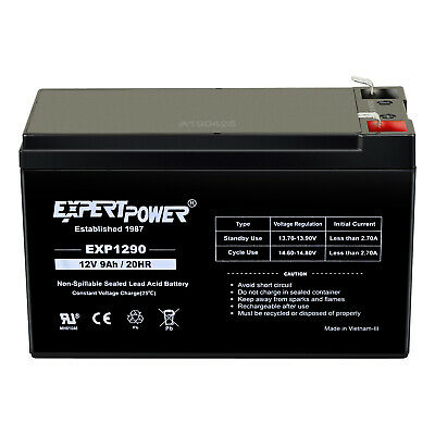 2 Pack Mighty Max 12V 9AH SLA Battery replaces hr1234w