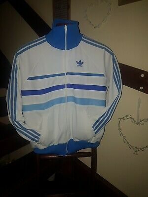 Adidas Ventex Vintage Retro Tracksuit Top 70'S First addition Medium IMMACULATE