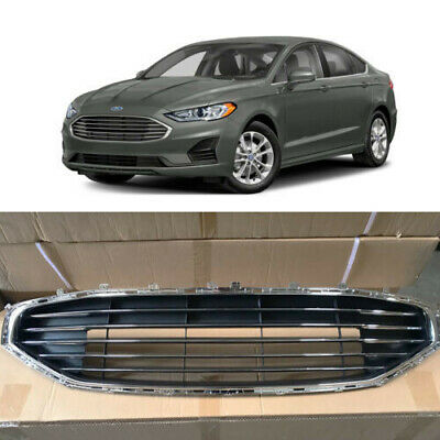 Chrome Front Bumper Grill Grille for Ford Fusion 2019 2020 Factory Style