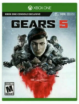 Gears of War 5 for Xbox One Microsoft XB1 - Gears 5 4K HDR - BRAND NEW SEALED