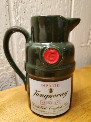 Imported Tanqueray Special Dry Distilled English Gin Bar Pitcher