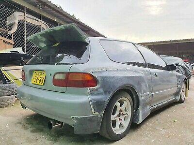 RB Style FRP For Honda EG Civic HatchBack Type R JDM widebody Pandem style