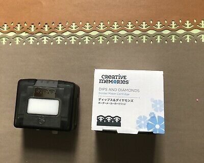 "Cartridge For Creative Memories Border Maker ""Dips and Diamonds"""