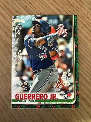 2019 Topps Holiday SP RARE & Super Short HOLIDAY VARIATIONS - U Pick From List
