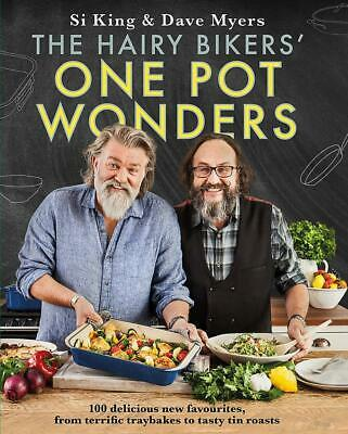 The Hairy Bikers' One Pot Wonders New Hardcover Book Food Healthy Eating Gift UK
