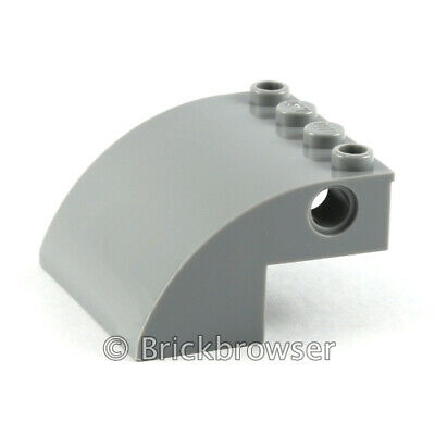NEW LEGO Part Number 23930 in Med Stone Grey