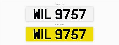 Cherished number / Private plate - WIL9757 - Will / William / Willis / Wilson