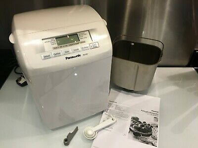 Panasonic Sd254 Automatic Bread Maker Gluten Free Program White *Superb*