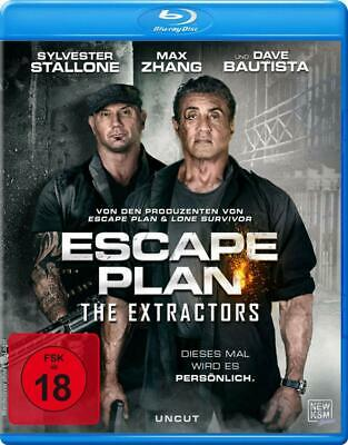 Escape Plan 3- The Extractors- Sylvester Stallone,Dave Bautista- Blu-Ray Reg B
