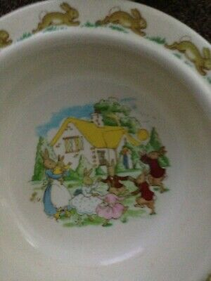 Bunnykins - Royal  Doulton - Cup and Bowl - preowned