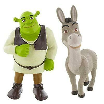 Cake Topper Dreamworks Animation Shrek Figure #1+2 Donkey Model A161+A162