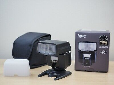 Nissin i40 Compact Flash for Micro Four Thirds Cameras. Near new. EBAY CODE $145