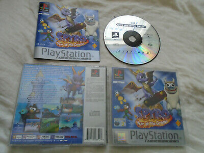 Spyro Year of the Dragon PS1 (COMPLETE) platform Sony Playstation platinum