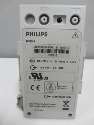 Philips M3539A MRX AC power adapter supply Module Battery 100 - 240v
