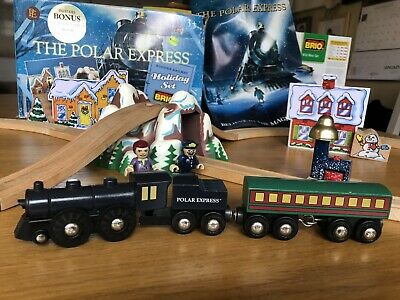 Brio The Polar Express Holiday Set Wooden Railway - Poster And Box Ultra rare